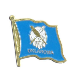 Lapel Pin - Oklahoma Flag