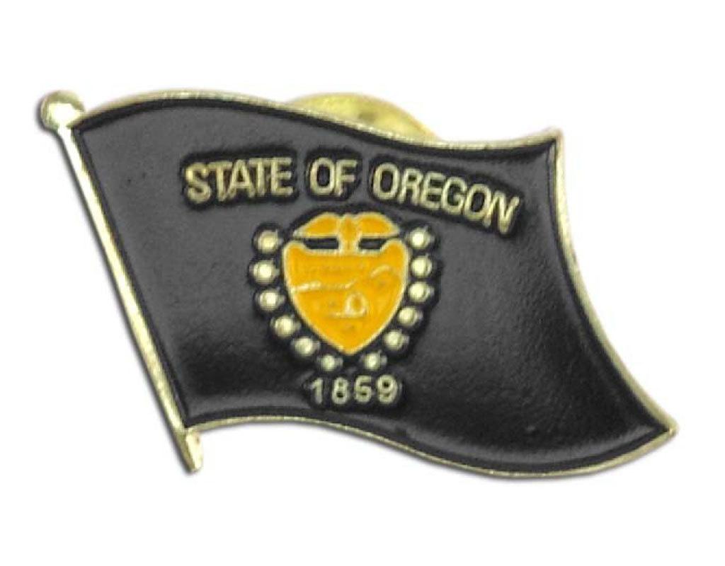 Lapel Pin - Oregon Flag