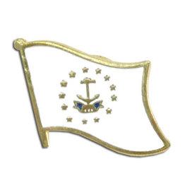 Lapel Pin - Rhode Island Flag