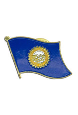 Lapel Pin - South Dakota Flag