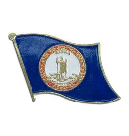 Lapel Pin - Virginia Flag