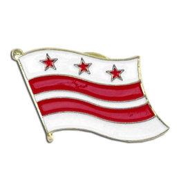 Lapel Pin - Washington DC Flag