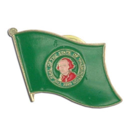 Lapel Pin - Washington Flag