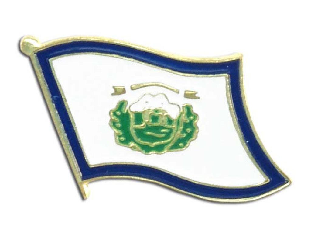Lapel Pin - West Virginia Flag