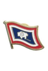 Lapel Pin - Wyoming Flag