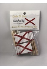 Toothpick Flags - Alabama