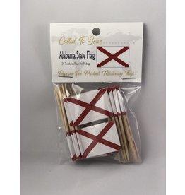 Toothpick Flags - Alabama