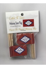 Toothpick Flags - Arkansas