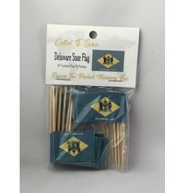 Toothpick Flags - Delaware