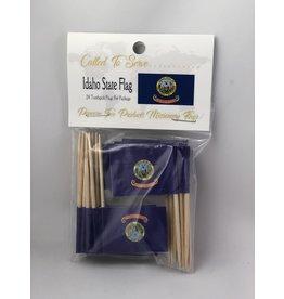 Toothpick Flags - Idaho
