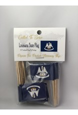 Toothpick Flags - Louisiana