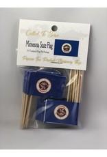 Toothpick Flags - Minnesota
