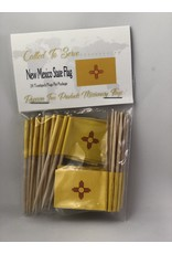 Toothpick Flags - New Mexico