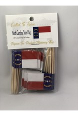 Toothpick Flags - North Carolina