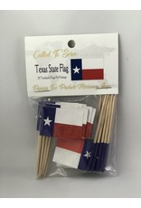 Toothpick Flags - Texas