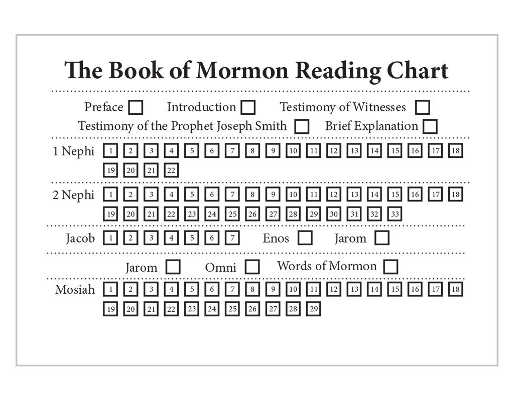 Book of Mormon in 100 Days