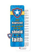 Ringmasters Pin/Bookmark - Just Baptized Shield
