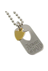 Ringmasters Necklace - Armour of God Dog Tag