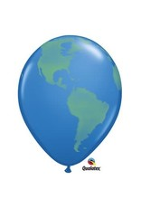 "World Map 11"" Balloon"