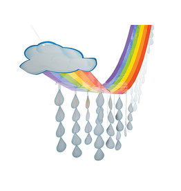 FUN EXPRESS Ceiling Decoration - Rainbow Cloud