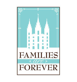 Poster - Families are Forever