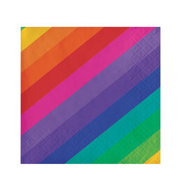 Creative Converting Rainbow - Napkins, Beverage