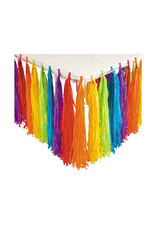 FUN EXPRESS Rainbow Party - Fringe Table Skirt