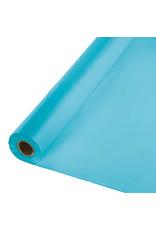Creative Converting Bermuda Blue - Table Roll, 100' Plastic