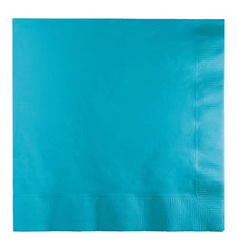 Creative Converting Bermuda Blue - Napkins, Luncheon 50ct