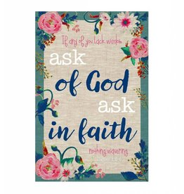 Popcorn Tree 2017 LDS Youth Theme Poster - Flowers, 8.5x11