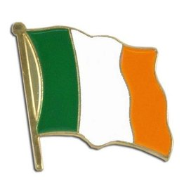 Popcorn Tree Lapel Pin - Ireland Flag