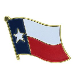 Popcorn Tree Lapel Pin - Texas Flag