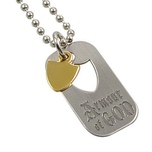 Ringmasters Armour of God - Dog Tag Necklace