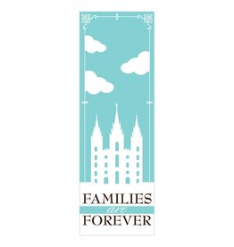 Popcorn Tree Bookmarks - Families are Forever, 6ct