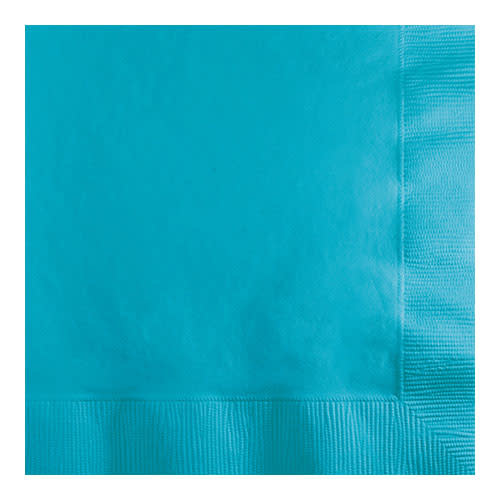 Creative Converting Bermuda Blue - Napkins, Beverage 50ct