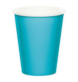 Creative Converting Bermuda Blue - Cups, 9oz Paper 24ct