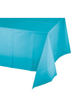 Creative Converting Bermuda Blue - Tablecover, 54x108 Plastic