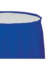 Creative Converting Cobalt - Tableskirt, 14' Plastic