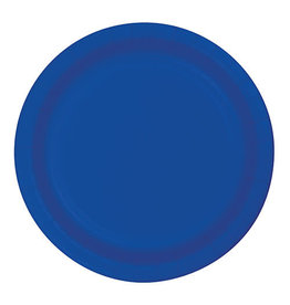 "Creative Converting Cobalt - Plates, 10"" Round Paper 24ct"