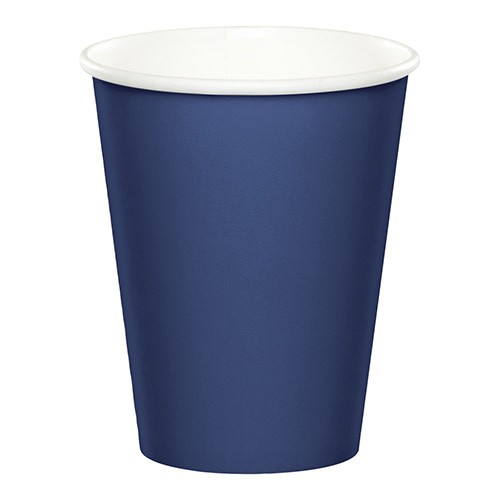 Creative Converting Navy - Cups, 9oz Paper 24ct