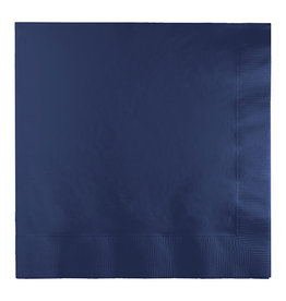 Creative Converting Navy - Napkins, Luncheon 50ct