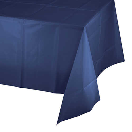 Creative Converting Navy - Tablecover, 54x108 Plastic