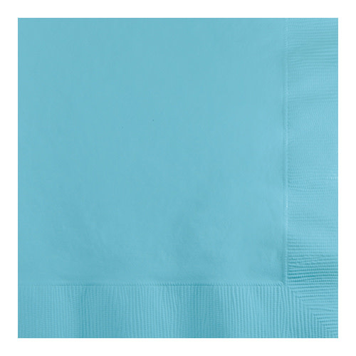 Creative Converting Pastel Blue - Napkins, Beverage 50ct