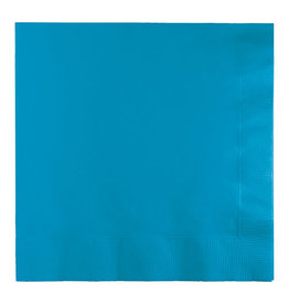Creative Converting Turquoise - Napkins, Luncheon Napkin 50ct
