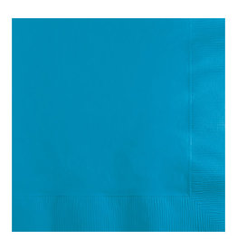 Creative Converting Turquoise - Napkins, Beverage 50ct