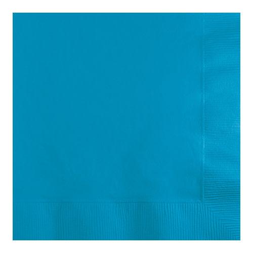 Creative Converting Turquoise - Napkins, Beverage 50ct
