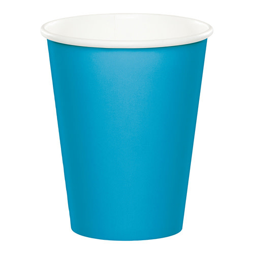 Creative Converting Turquoise - Cups, 9oz Paper 24ct