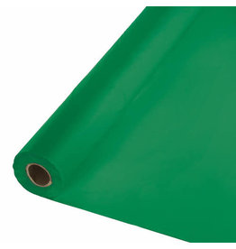Creative Converting Emerald Green - Table Roll, 100' Plastic