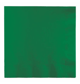 Creative Converting Emerald Green - Napkins, Luncheon 50ct