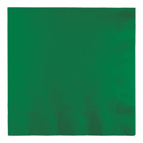 Creative Converting Emerald Green - Napkins, Luncheon 50ct